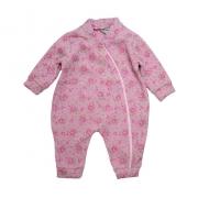 Macacão Bebê Soft Flor  Rosa