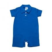Macaquinho Bebê  Azul Royal