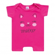 Macaquinho Bebê Cat Pink