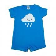 Macaquinho Bebê Nuvem Azul
