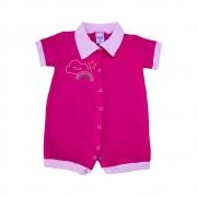 Macaquinho Bebê Strass Pink
