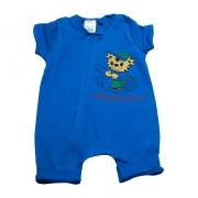 Macaquinho Bebê Tigre  Azul Royal