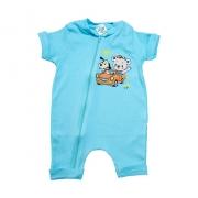Macaquinho Bebê Ursinho Azul