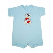 Macaquinho Bebê Urso Marinheiro Azul