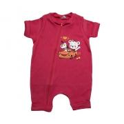 Macaquinho Bebê Urso  Vermelho