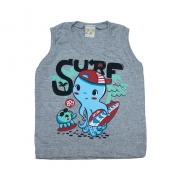 Regata Infantil Surf Mescla
