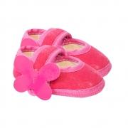 Sapatilha Bebê Borboleta Pink