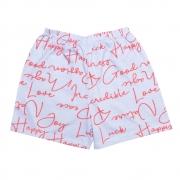 Shorts Infantil Lilás