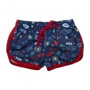 Shorts Infantil Marinho