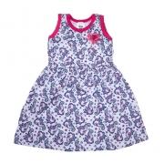 Vestido Bebê/Infantil Unicórnio Rosa