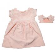 Vestido Bebê Lazzie Salmão