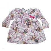 Vestido Bebê Ursinhos Pérola