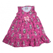 Vestido Infantil Bailarina Pink