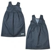 Vestido Infantil Laço Costa Preto