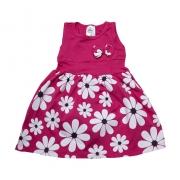Vestido Infantil Margarida Pink