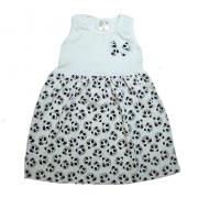 Vestido Infantil Panda Pérola