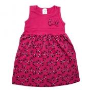 Vestido Infantil Panda Pink