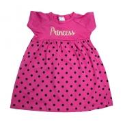 Vestido Infantil Princess Pink