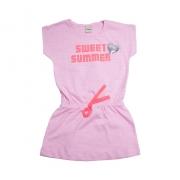 Vestido Infantil Sweet Summer Rosa