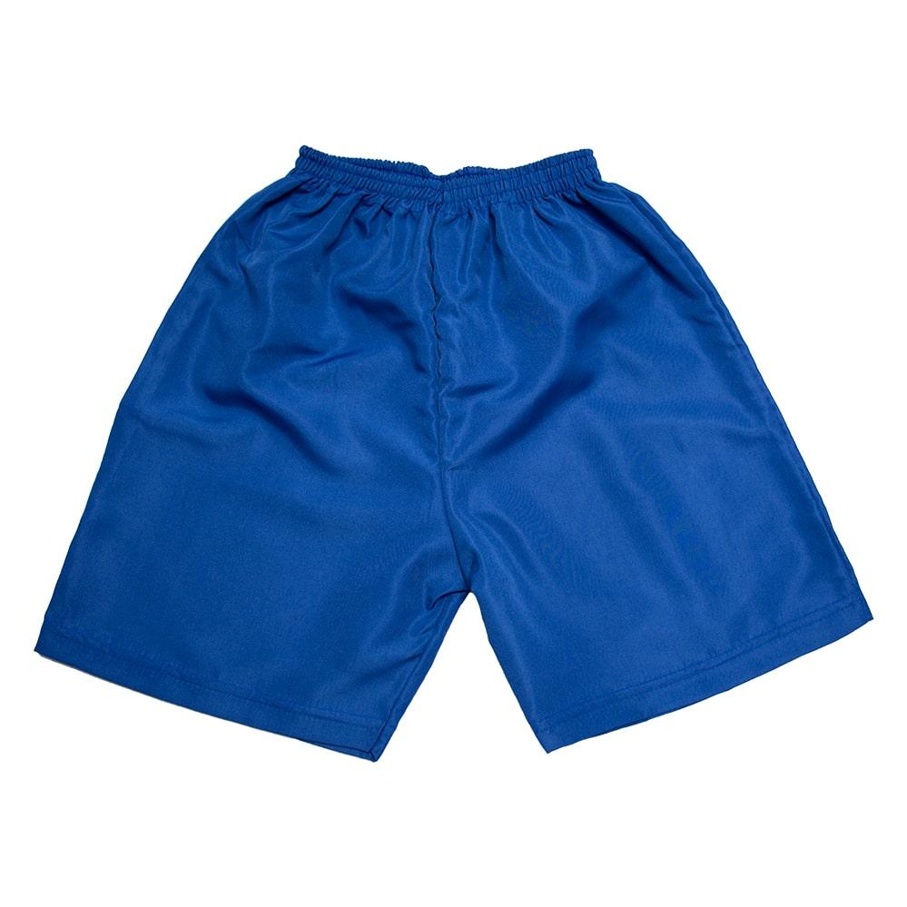 Bermuda Infantil Tactel Lisa Azul   - Jeito Infantil