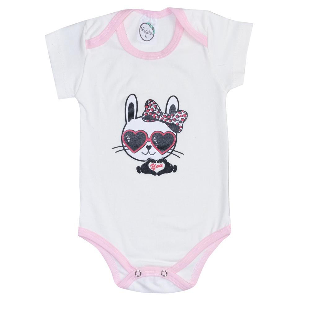 Body Bebê Cat Pérola  - Jeito Infantil