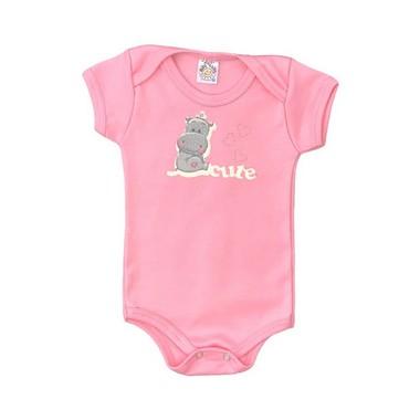 Body Bebê Cute Rosa  - Jeito Infantil