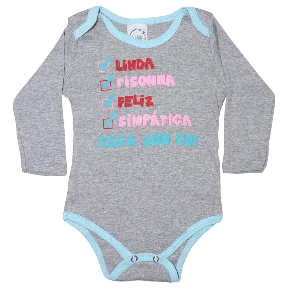 Body Bebê Linda Mescla  - Jeito Infantil