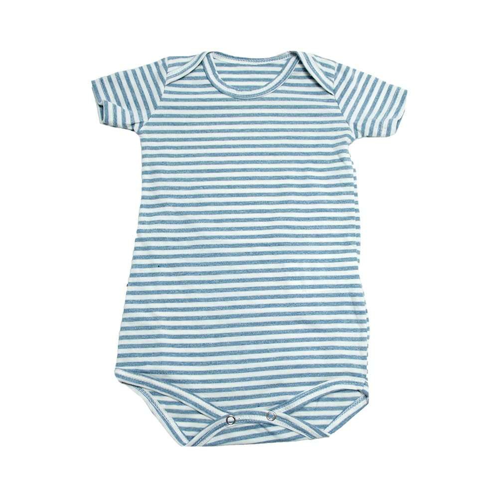 Body Bebê Listras Mescla  - Jeito Infantil