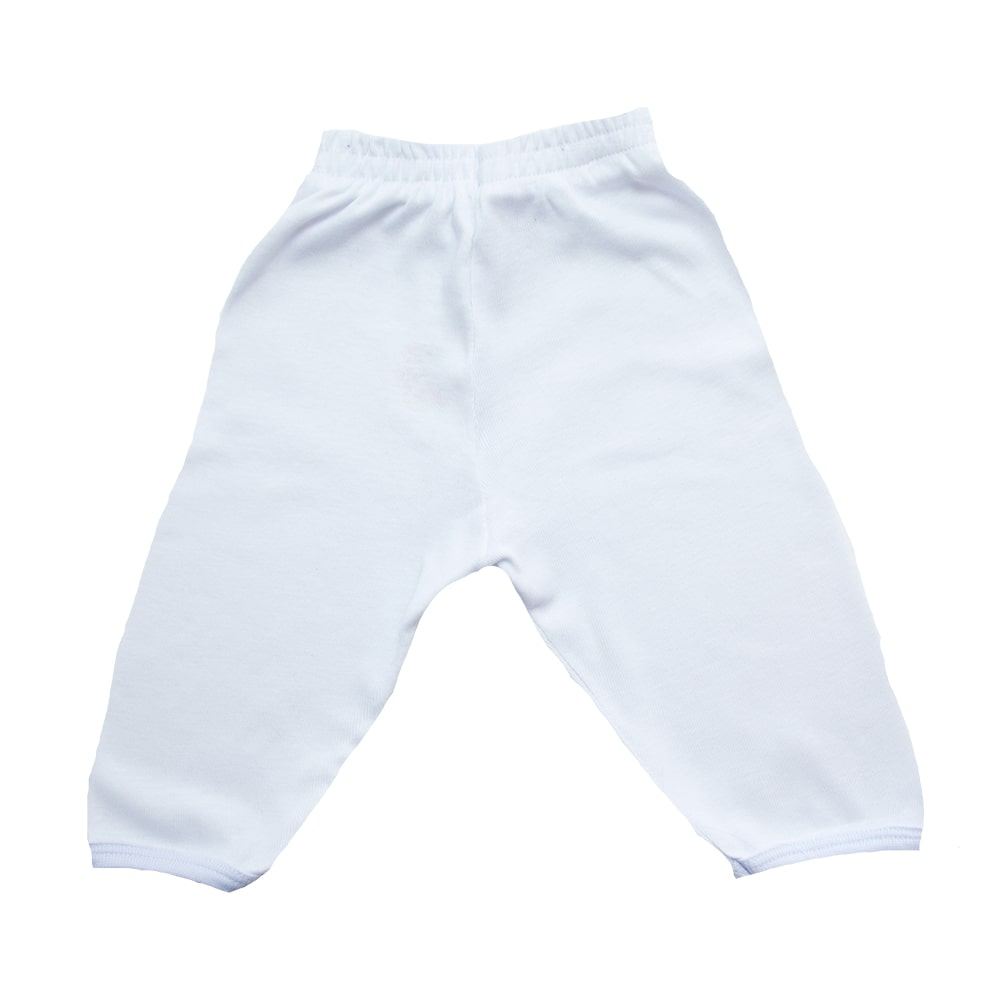 Calça Bebê Kentury Branco  - Jeito Infantil