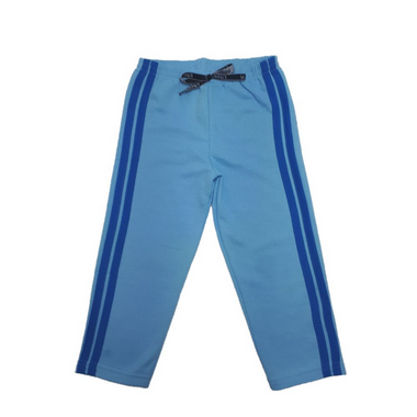 Calça Infantil Listras  Azul  - Jeito Infantil