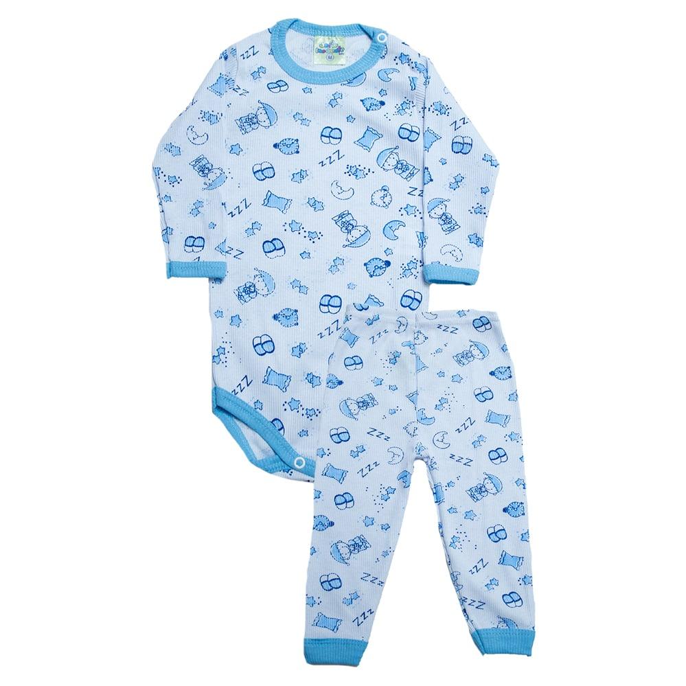 Conjunto Bebê Body Soninho Branco  - Jeito Infantil