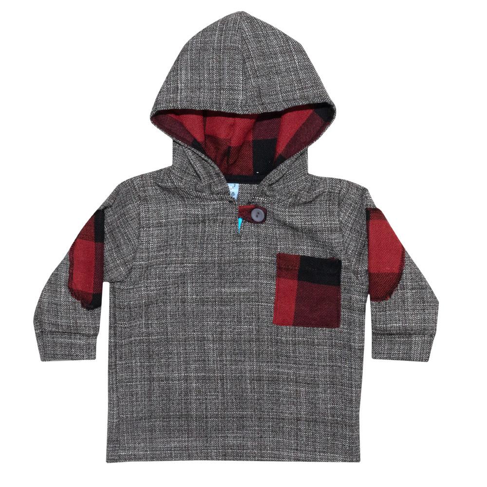 Conjunto Bebê Casaco e Calça Tecido  - Jeito Infantil