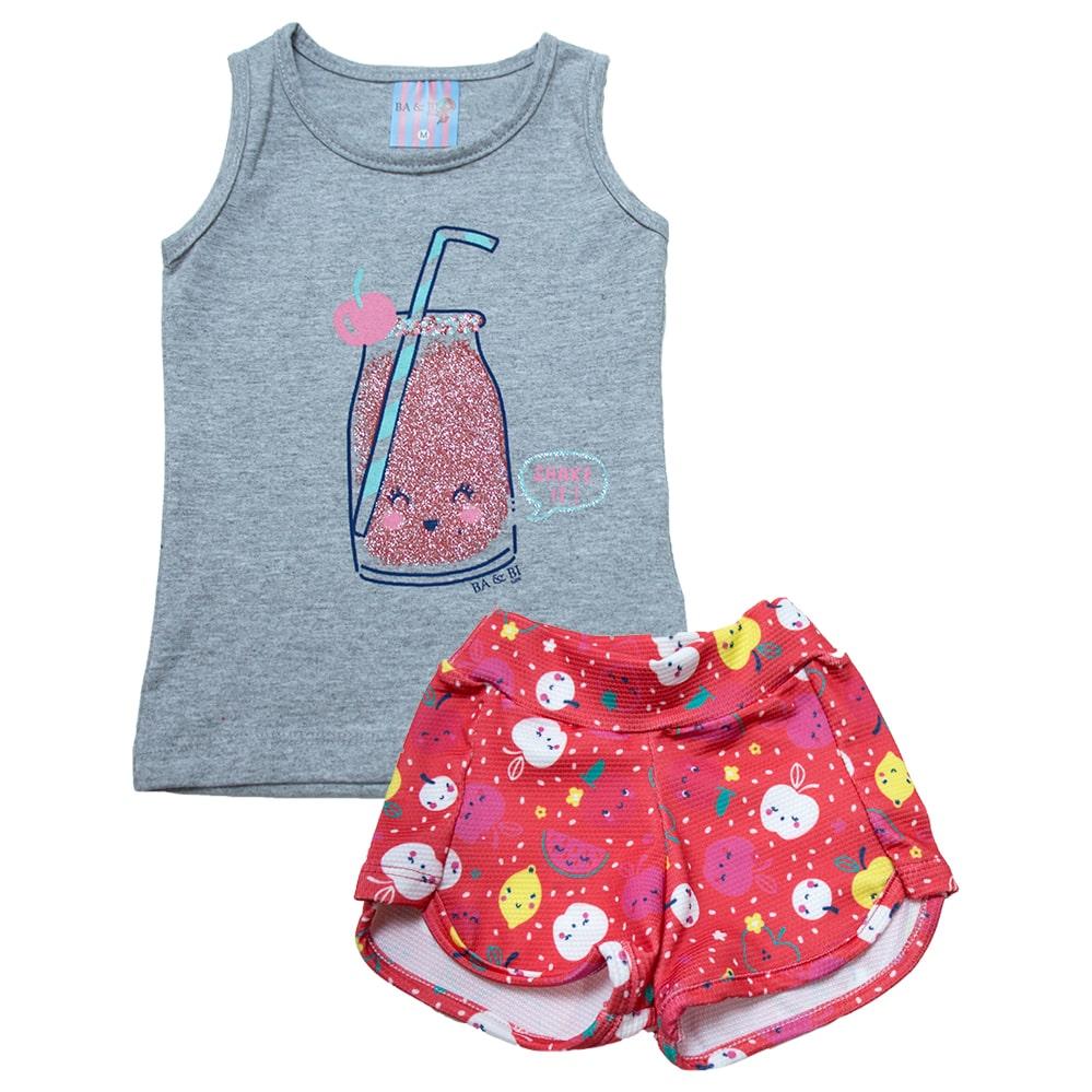 Conjunto Bebê Frutas Mescla  - Jeito Infantil