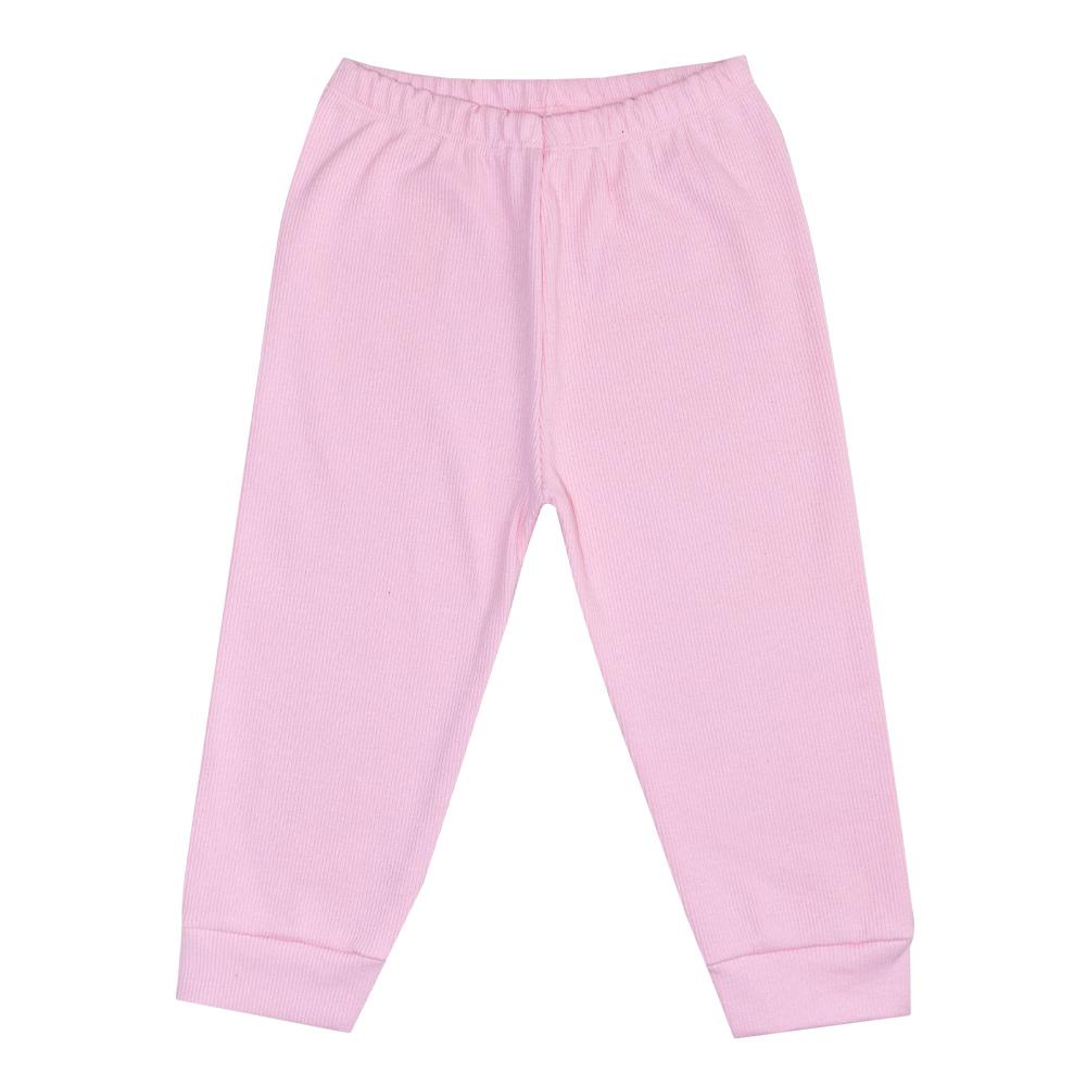 Conjunto Infantil Body Bolinhas Rosa  - Jeito Infantil