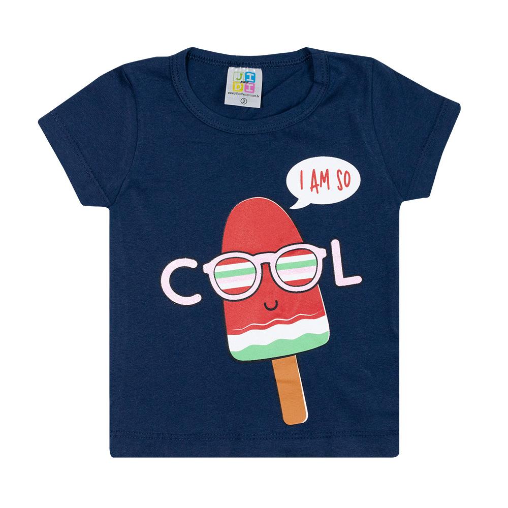 Conjunto Infantil Cool Marinho  - Jeito Infantil