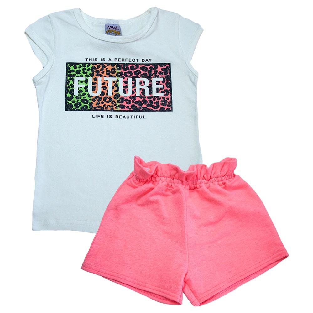 Conjunto Infantil Future Pérola  - Jeito Infantil