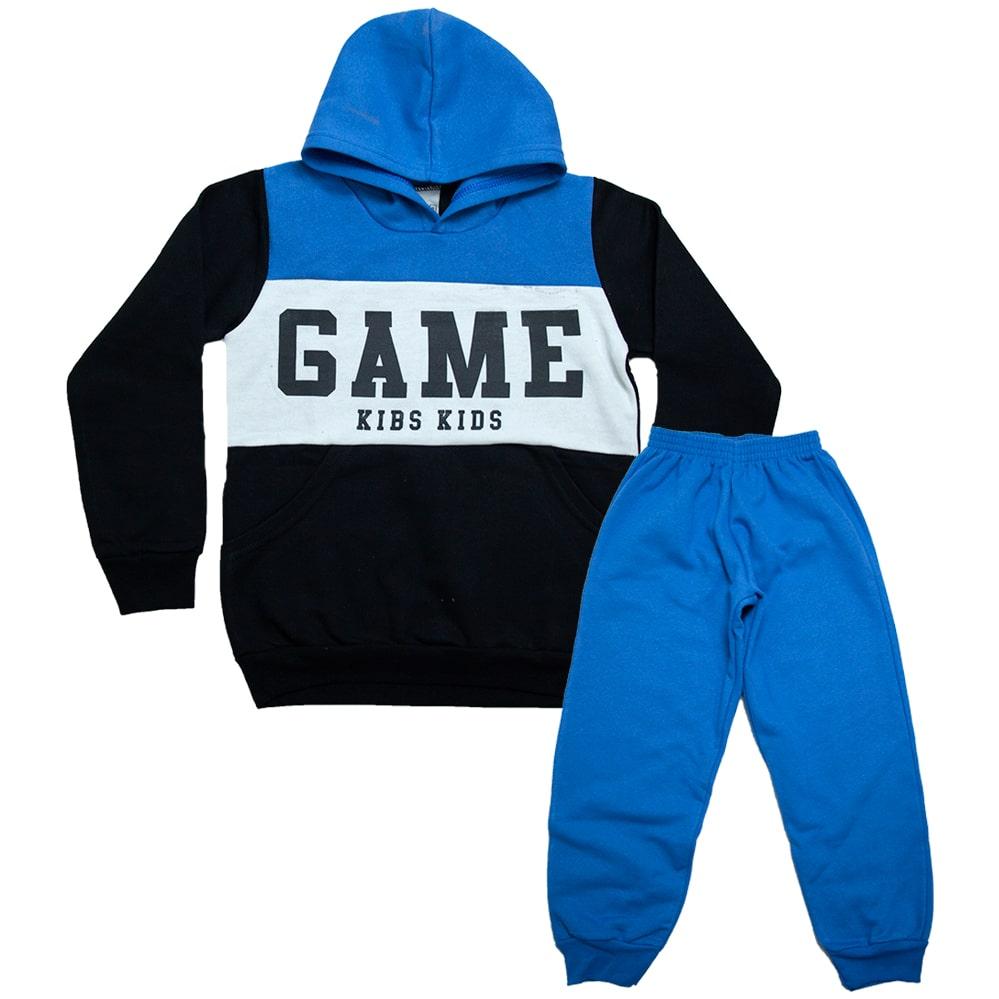 Conjunto Infantil Game Azul  - Jeito Infantil
