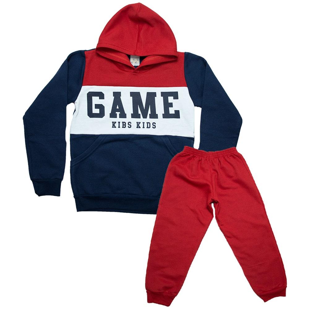 Conjunto Infantil Game Vermelho  - Jeito Infantil