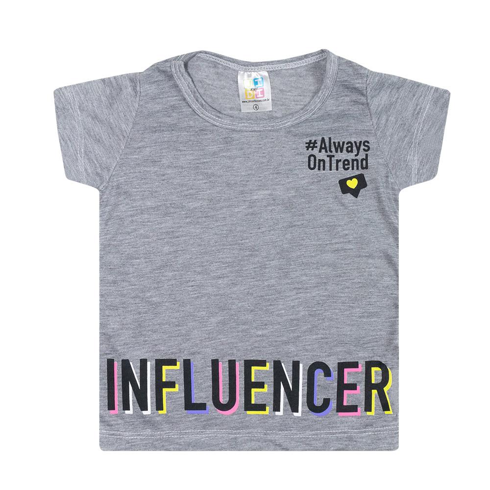 Conjunto Infantil Influencer Mescla  - Jeito Infantil