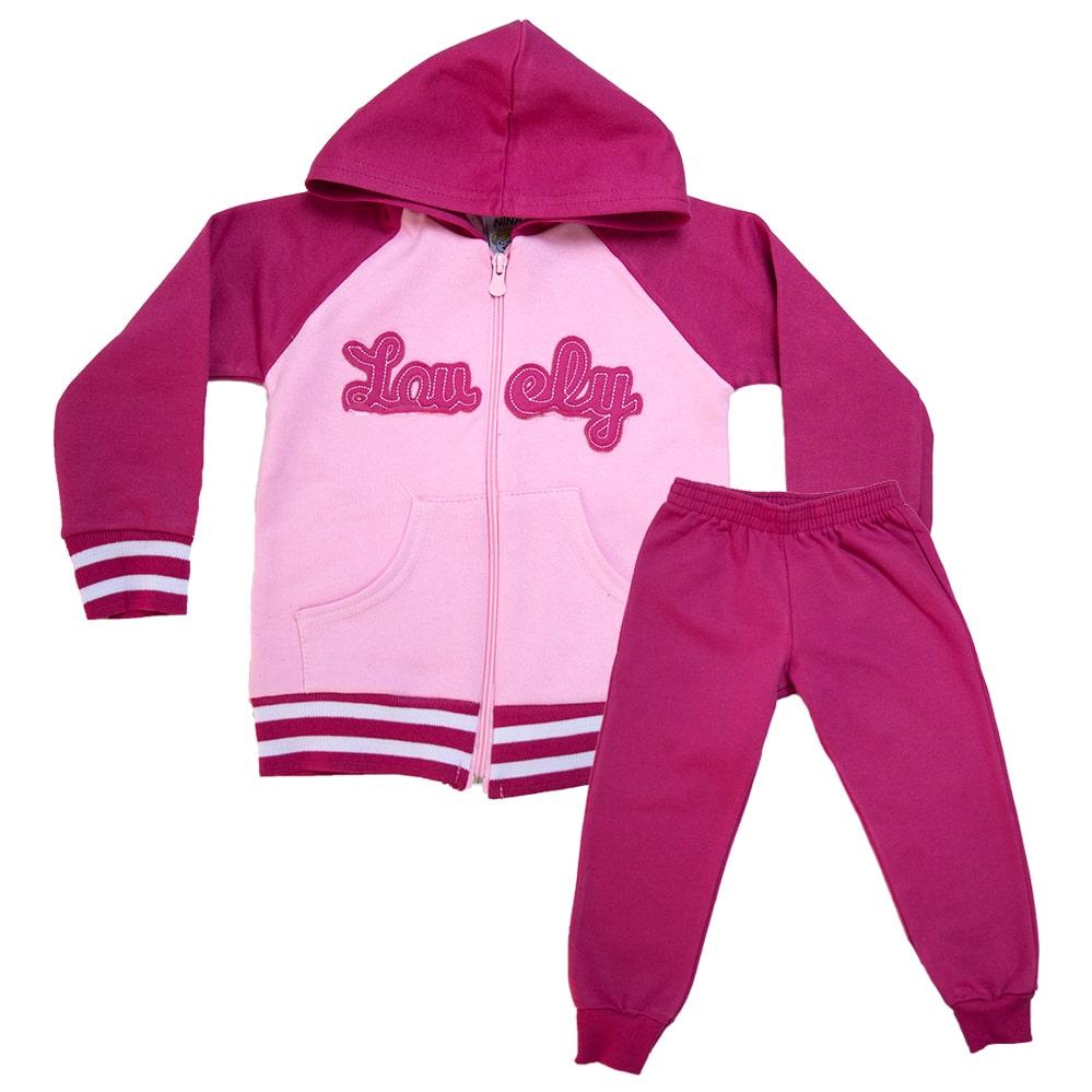 Conjunto Infantil Lovely Pink  - Jeito Infantil