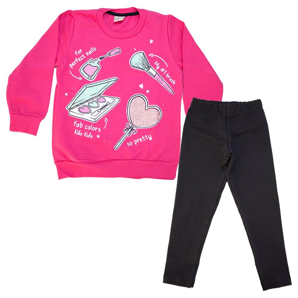Conjunto Infantil Maquiagens Pink  - Jeito Infantil