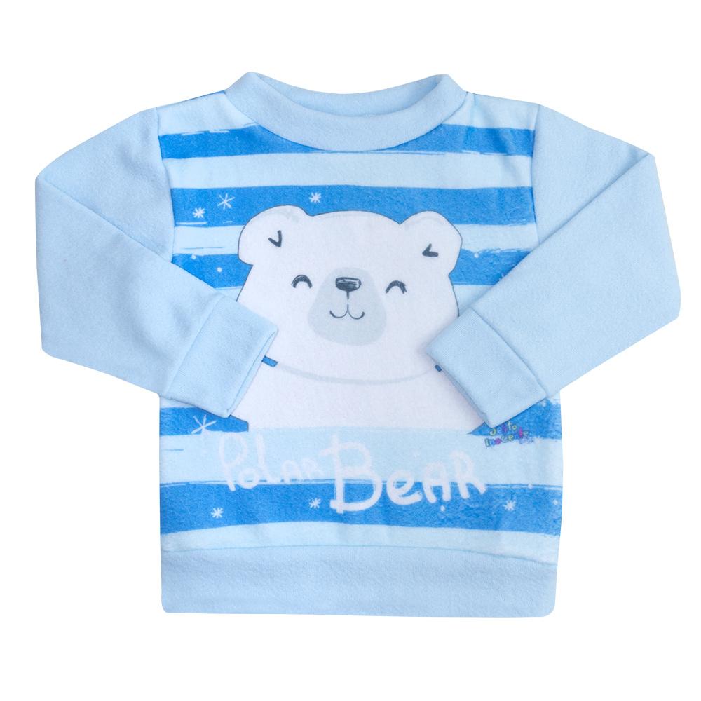 Conjunto Infantil Soft Ursinho Azul  - Jeito Infantil
