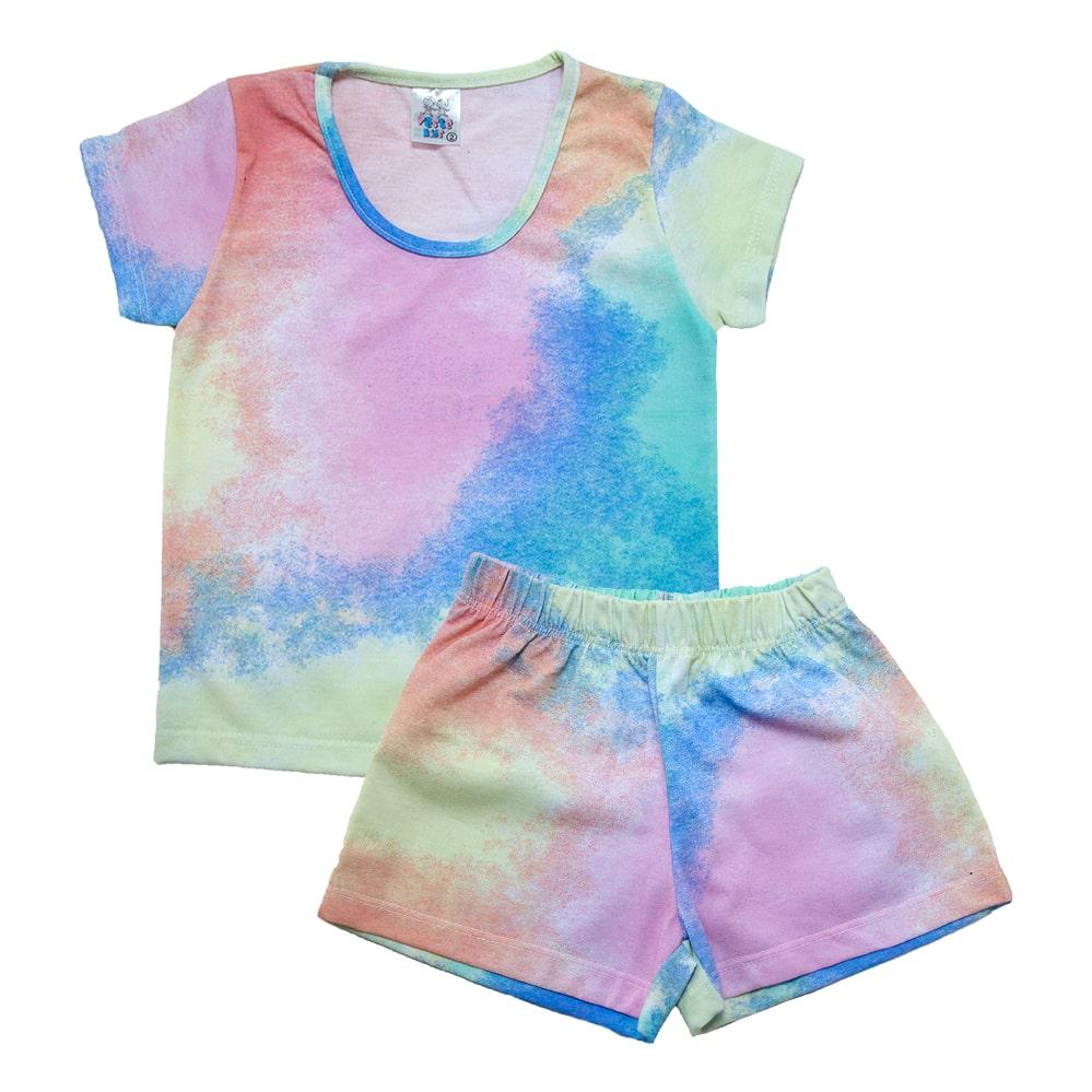 Conjunto Infantil Tie Dye  - Jeito Infantil