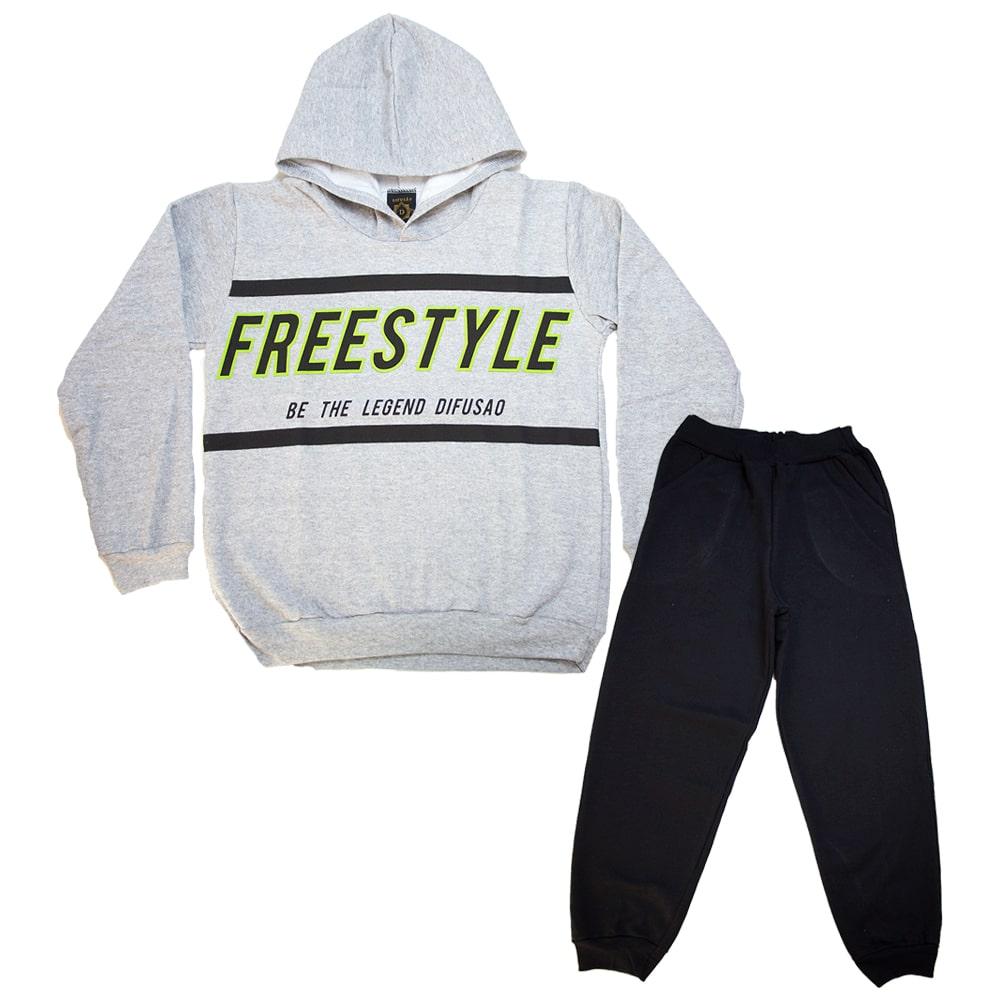 Conjunto Juvenil Freestyle Mescla  - Jeito Infantil