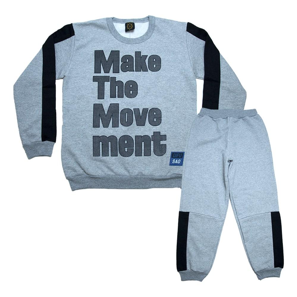 Conjunto Juvenil Make The Moviment Mescla  - Jeito Infantil