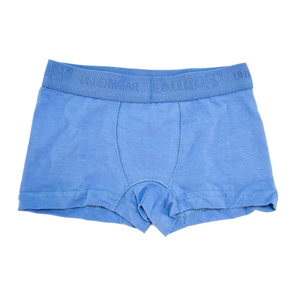 Cueca Boxer Infantil Azul  - Jeito Infantil