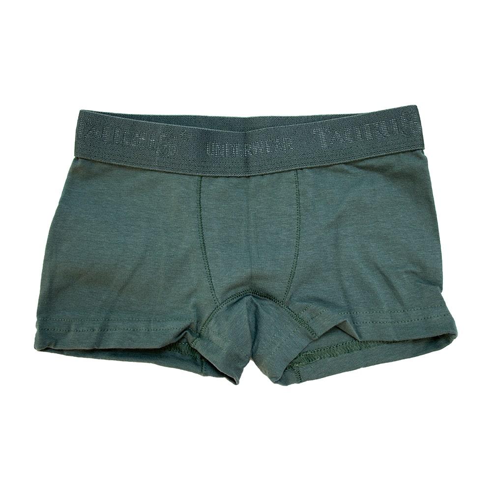 Cueca Boxer Infantil Verde  - Jeito Infantil