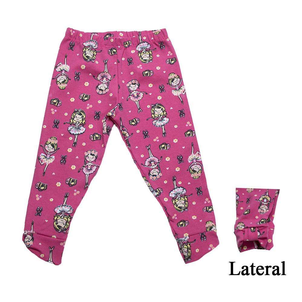 Legging Infantil Bailarina Pink  - Jeito Infantil