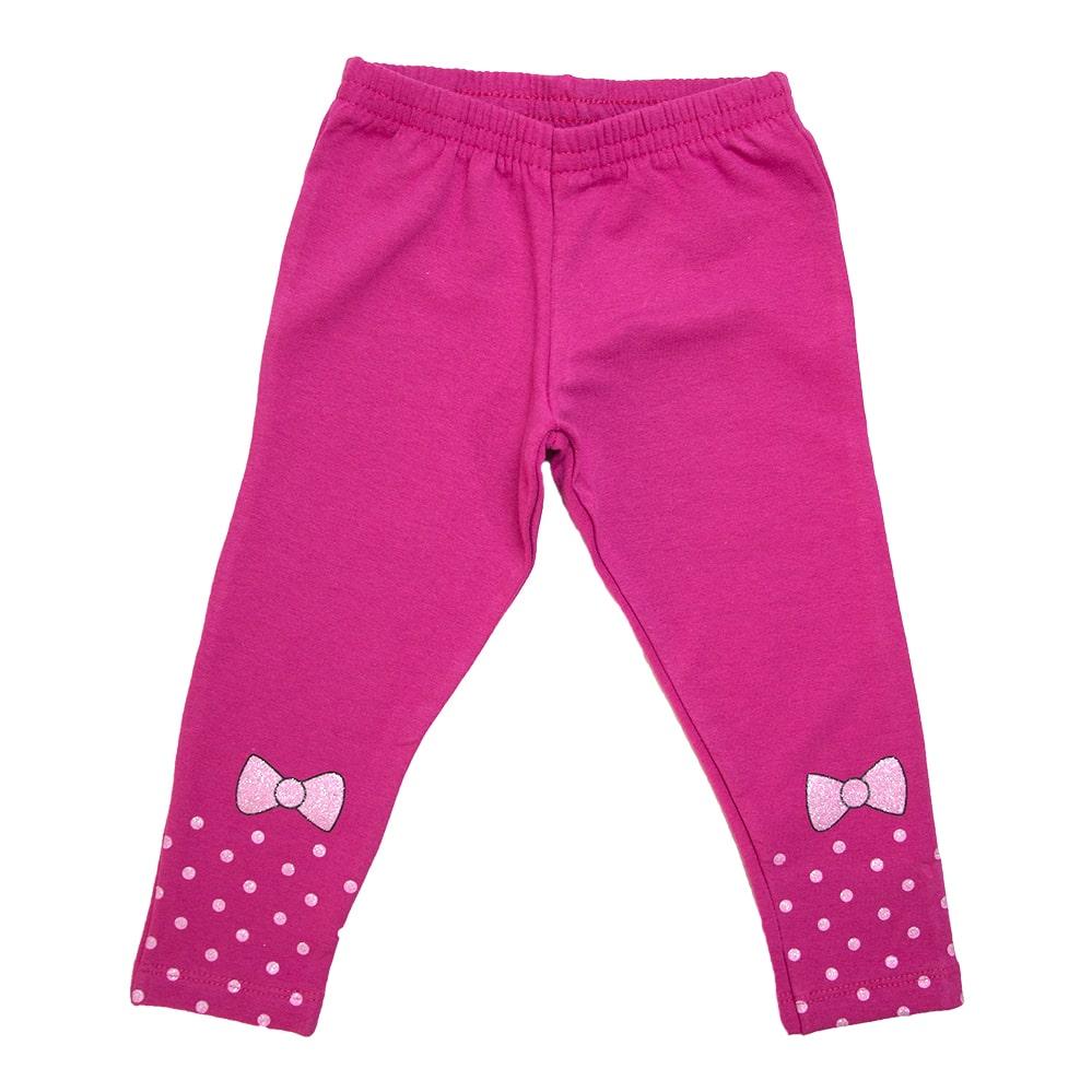 Legging Infantil Laço Pink  - Jeito Infantil
