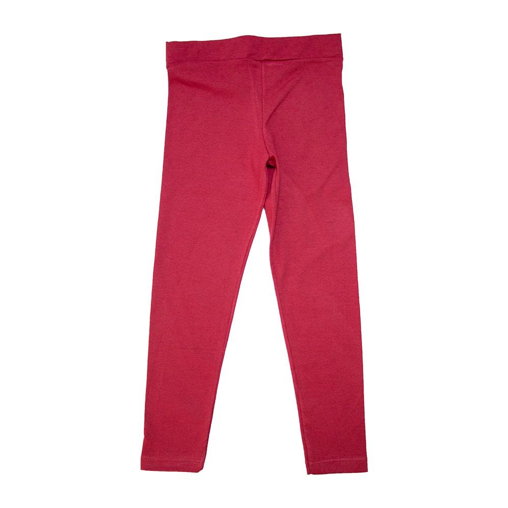 Legging Infantil Lisa Vermelha  - Jeito Infantil
